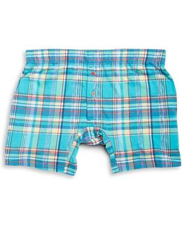 Plaid Knit Boxers