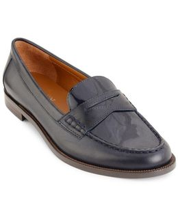 Barrett Tailored Patent Leather Penny Loafers
