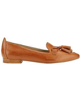 Kelsey Leather Dress Flats