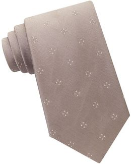 Four Point Micro Printed Tie