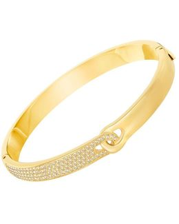 Gallon 23k Goldplated And Crystal Bracelet