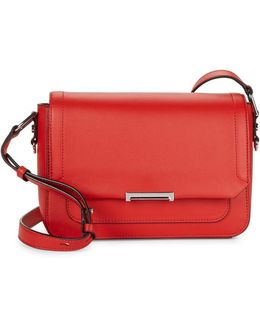 Poppy Mara Leather Crossbody Bag