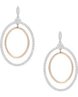 Gilberte Hoop Pierced Earrings