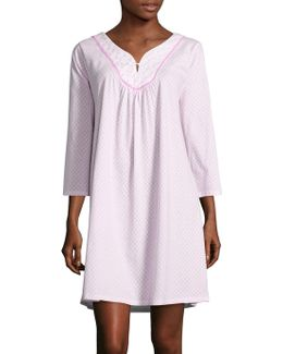 Printed Cotton Sleep Gown