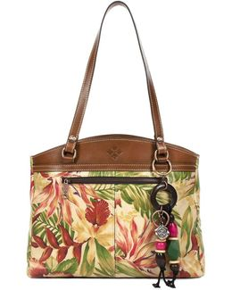 Poppy Leather Tote Bag