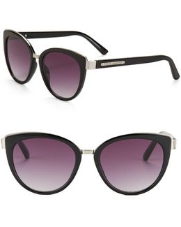 57mm Cat Eye Sunglasses