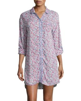 Cloud Wildflower Sleep Shirt