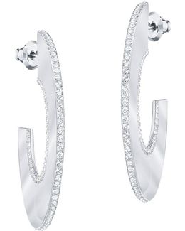 Gelane Crystal Hoop Earrings