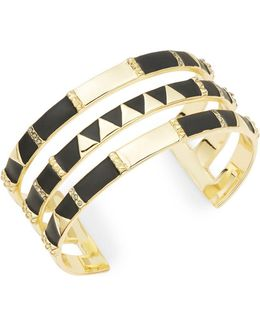 Three-row Cuff Bracelet