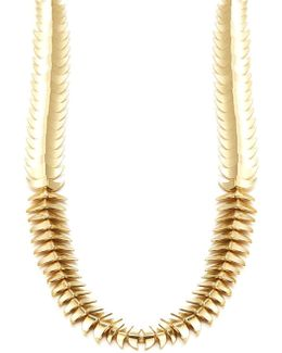 Sculptural Link Necklace