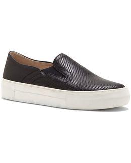 Kyah Leather Slip-on Sneakers