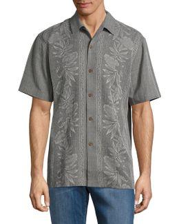 Pacific Floral Silk Sportshirt