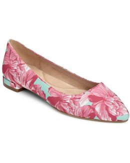 Hey Girl Floral Flats