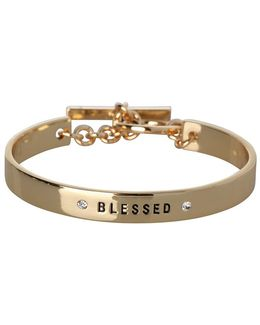 Blessed Inscribed Bracelet