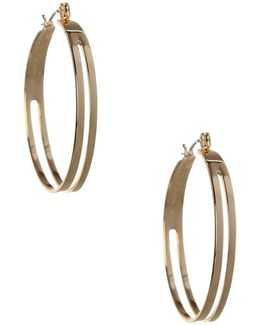 Replenishment Cutout Hoop Earrings/1.37""