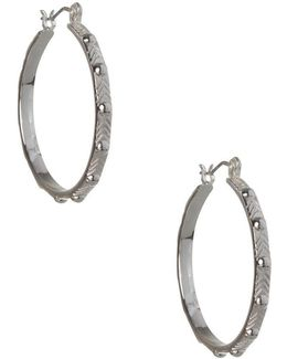 Replenishment Hoop Earrings/1.10""