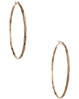 Replenishment Hoop Earrings/2.36""