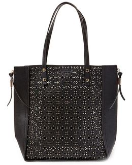 Perforated North South Tote
