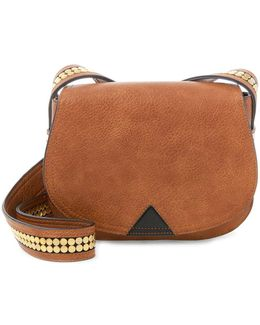 Battery Stud Crossbody Saddle