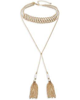 Collar Tassel Necklace