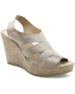 Laurel Espadrille Wedge Sandals
