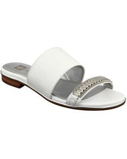 Napper Leather Slide Sandals