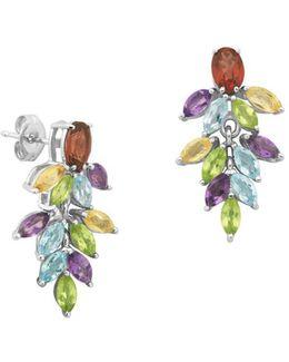 Marquise-cut Multi-stone Drop Earrings