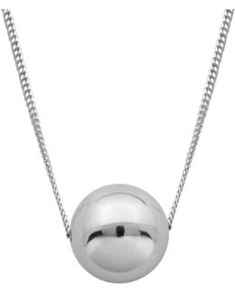 High Polished Ball Necklace