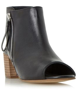 Joselyn Leather Ankle Boots