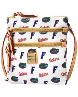 Florida Gators Triple-zip Crossbody Bag