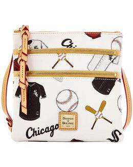 White Sox Triple-zip Crossbody Bag