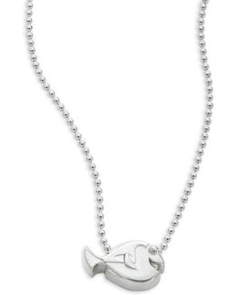 Sterling Silver Dory Necklace