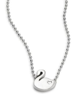 Animals Swan Necklace