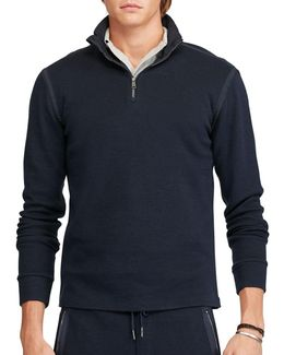 Cotton-blend Pullover