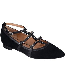 Mince Suede Flats
