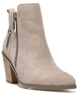 Bianca Suede Ankle Boots