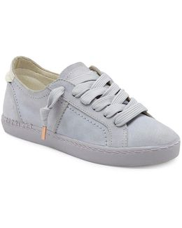 Zalen Suede Lace-up Sneakers