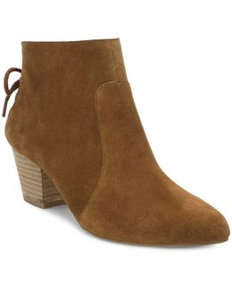 Charles Mid-heel Suede Boots