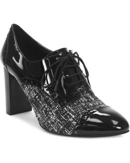 Evo Patent Leather Tie-up Oxfords