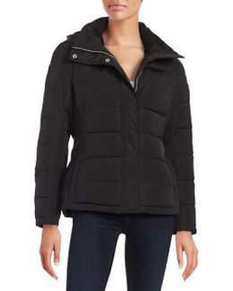 Cold Weather Rated Quilted Coat