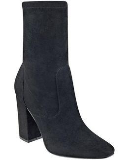 Lynna Block-heel Booties