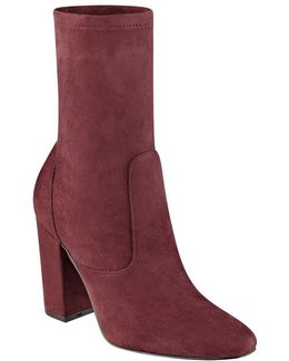 Itlynna Suede Ankle Boots