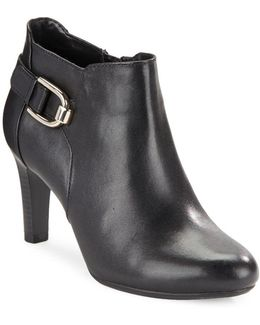 Layita Leather Ankle Booties