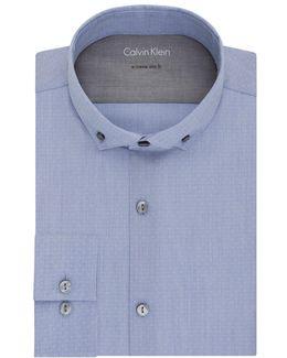 Extra Slim Fit Dobby Dress Shirt