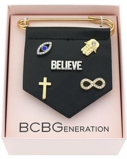 For Pins Sake Believe Bracelet Charm
