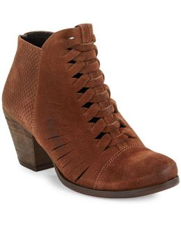 Loveland Suede Ankle Boots