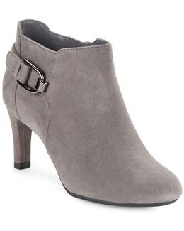 Layita Suede Ankle Booties