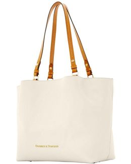 City Leather Flynn Tote