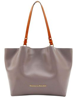 City Flynn Leather Tote