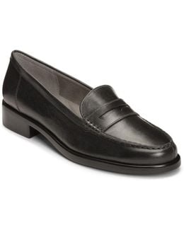 Main Dish Leather Penny Loafers
